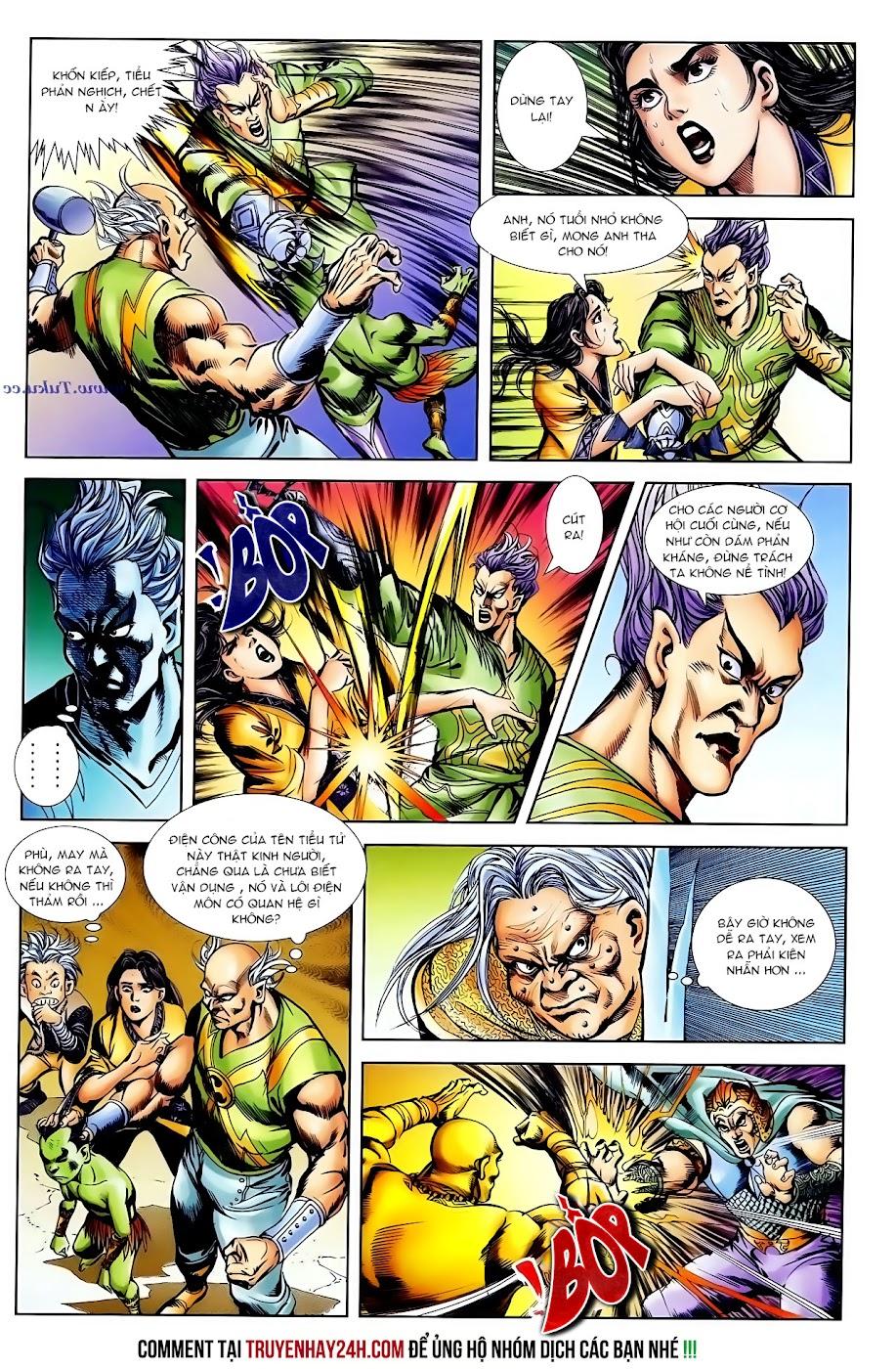 Cơ Phát Khai Chu Bản chapter 101 trang 29