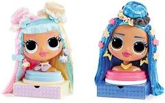 Лол Сюрприз голова манекен для причесок L.O.L. Surprise! OMG Styling Head Miss Independent и Candylicious
