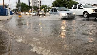 João Pessoa registra aproximadamente 50 mm de chuvas nas últimas 24 horas