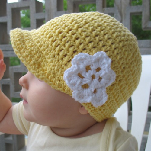 Crochet Flower Hat - Free Pattern