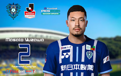 PES 2021 Faces Masato Yuzawa by CongNgo