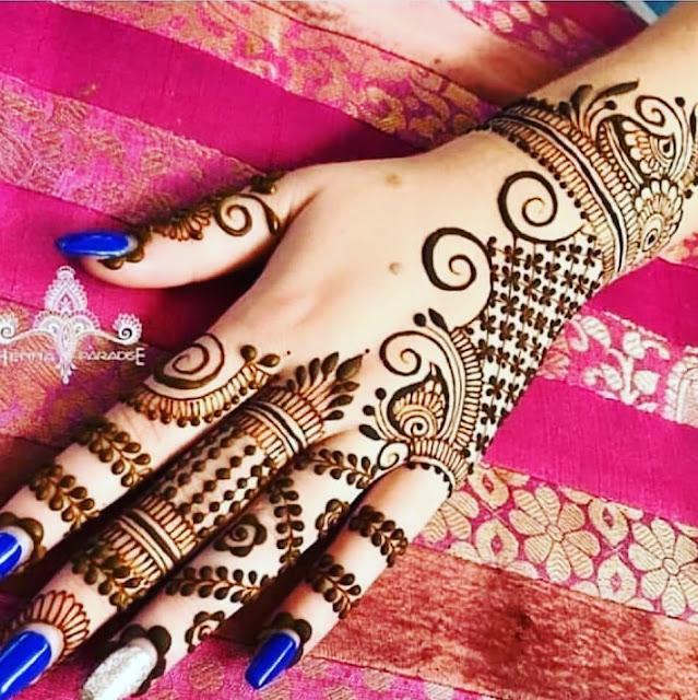 arabic mehndi designs for wedding