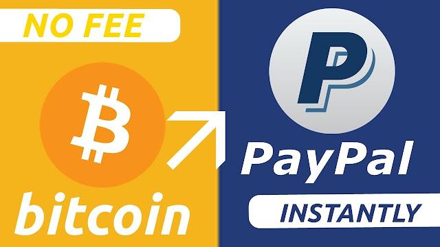 شراء البيتكوين عن طريق بطاقة الإئتمان paypal