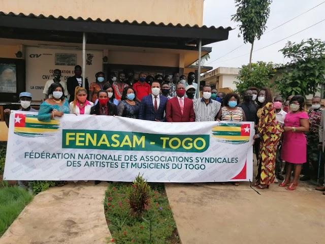 FENASAM-Togo, la nouvelle organisation qui fédère les artistes et musiciens du Togo