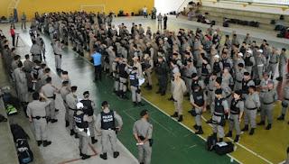 Governador anuncia concurso com 1 mil vagas para a Polícia Militar da Paraíba