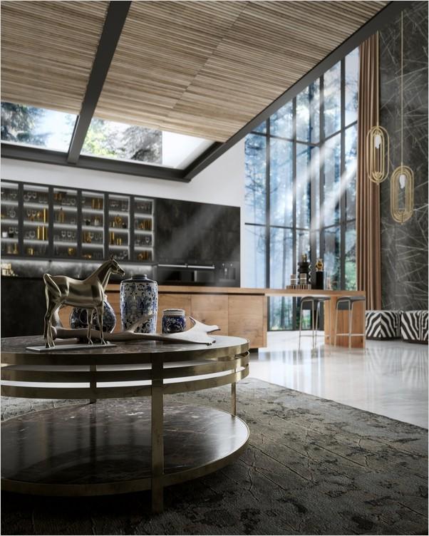 Luxury Modern Kitchen Design Home Interior Exterior Decor Design Ideas