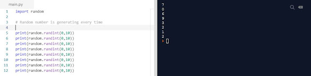 Python Programming Random Module
