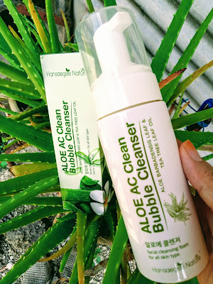 REVIEW, REVIEW PRODUCT, PAID REVIEW, GIFT REVIEW, NATURE SKINCARE PRODUCT, ALOE AC BUBBLE CLEANSER, HANSAEGEENATURE, SKINCARE KOREAN, TIPS KECANTIKKAN