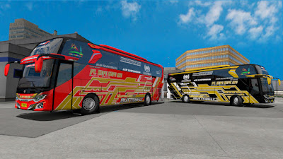 Skin Pack Kupu Kupu Ayu Emperor Series Mod Jetbus 3 SHD M.Annas Cvt Diny