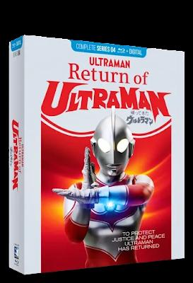 Blu-ray Review - Return of Ultraman