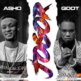 MUSIC: Asho Ft. Q dot - Jogor   @official_asho