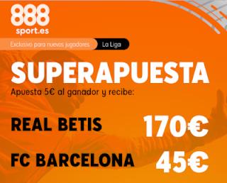 888sport superapuesta liga Betis vs Barcelona 9 febrero 2020