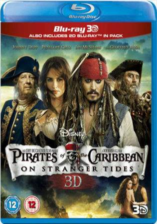 Pirates of the Caribbean On Stranger Tides 2011 BRRip 400MB Hindi Dual Audio 480p