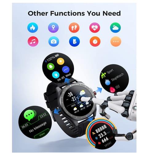 Vigorun Fitness Tracker IP68 Waterproof Smart Watch