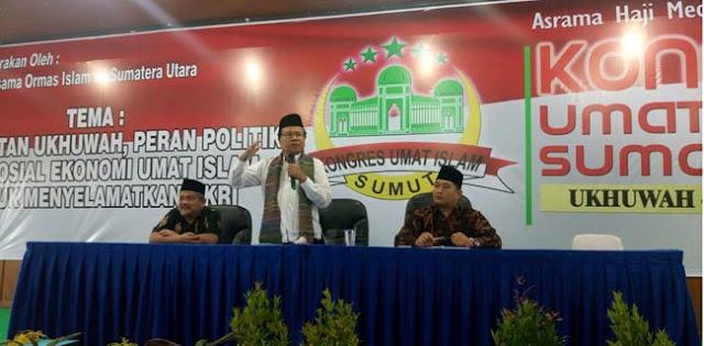 Rizal Ramli Presiden Menggema di Kongres Umat Islam
