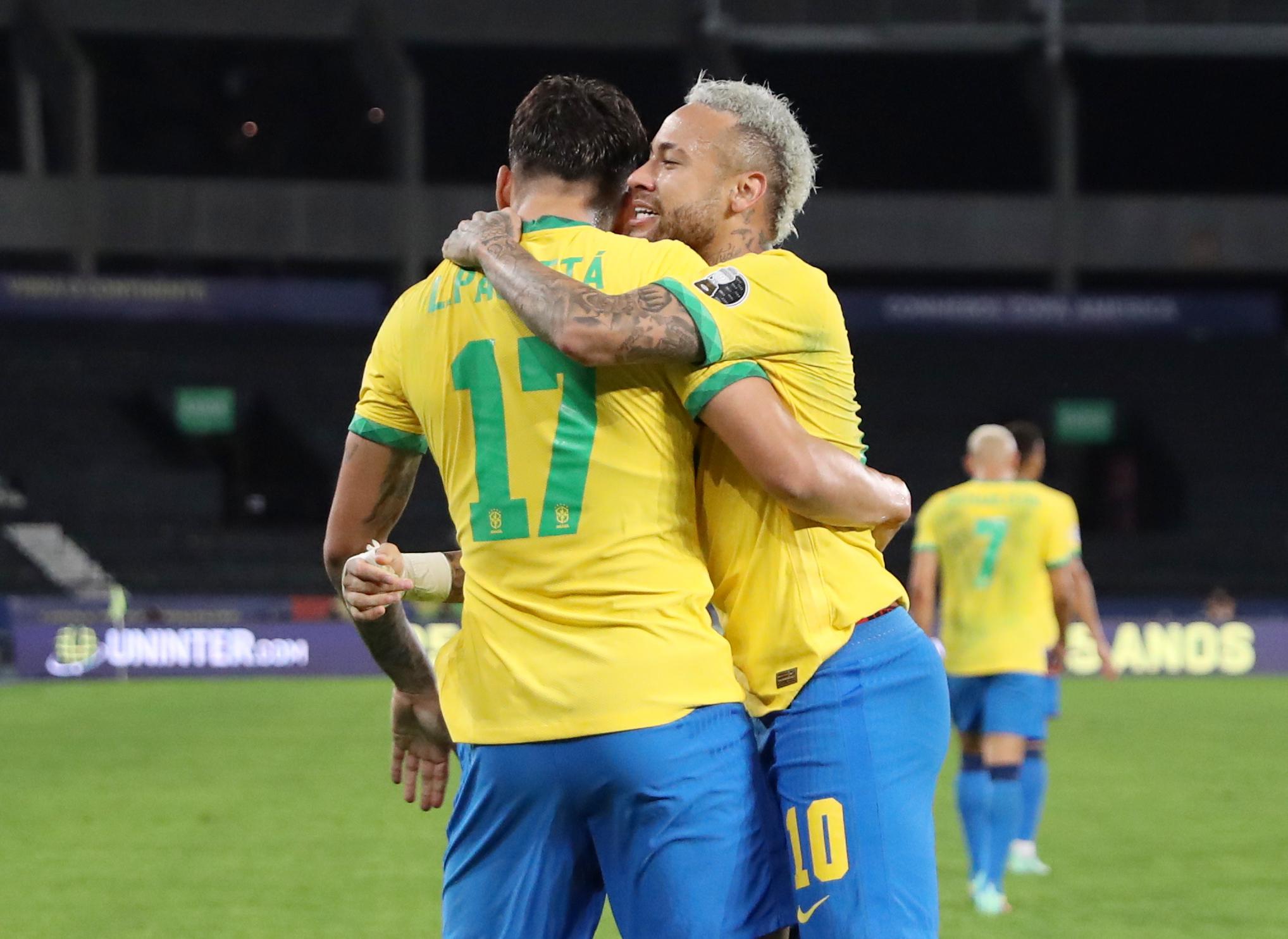 Brasil derrotó con lo justo a Perú y es el primer finalista de la Copa América
