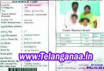Telangana Food Security Card Ration Card Details TS Ration card Download