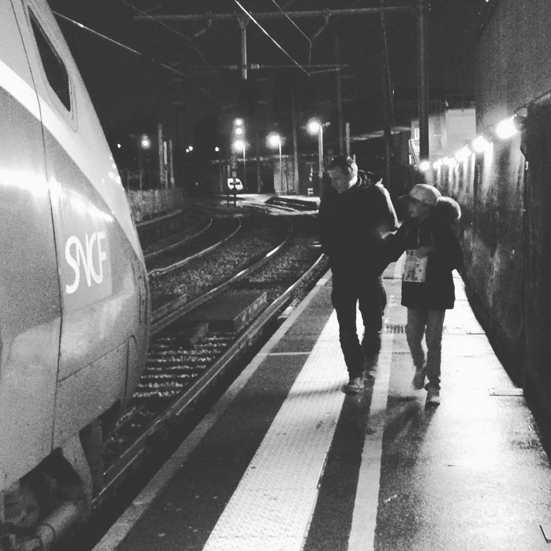 premier voyage en train seul