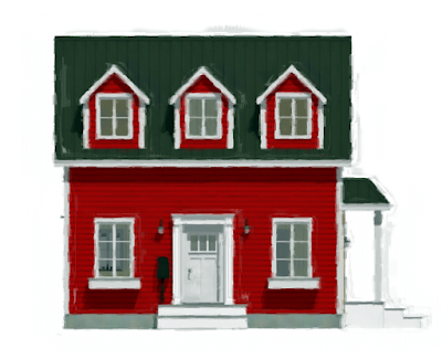 The Little Red Cottage Home Design