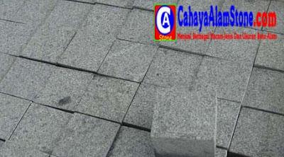 Harga Batu Alam Andesit Cobble Stone Per Meter Persegi
