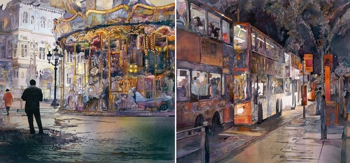 00-John-Salminen-Watercolor-Paintings-Taking-Glimpses-into-our-Life-www-designstack-co