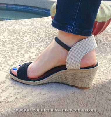 Lucky Brand Katereena Wedge Sandal (2) - Trunk Club Review - April 2016