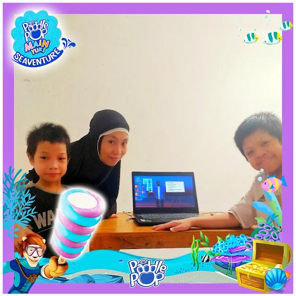 Satu Pagi Menyenangkan dengan Wisata Virtual bersama Paddle Pop Main Yuk! Seaventure dan Jakarta Aquarium Safari