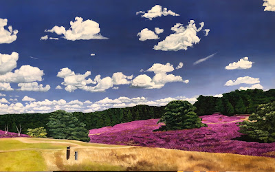 Day Trip in the Heather Fields - Copyright Christine Ong-Dijcks