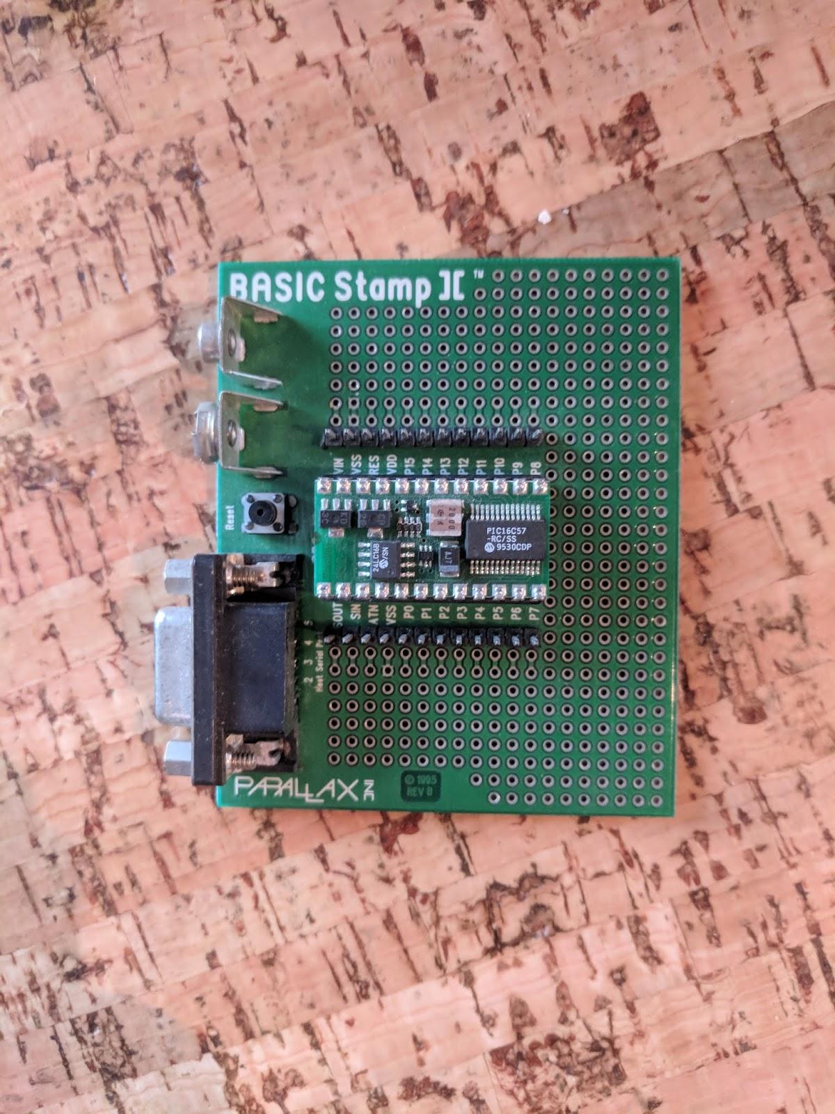 Coding Relic: The Arduino before the Arduino: Parallax Basic