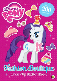 My Little Pony Fashion Boutique Dress-Up Sticker Book Books
