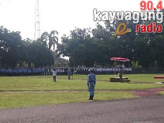 Upacara Peringatan Hari Bela Negara Ke-69 Kabupaten OKI