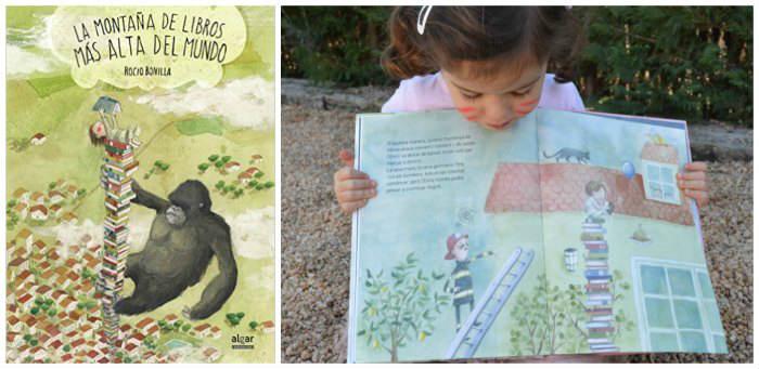 cuentos infantiles crianza respetuosa, con apego Montaña libros más alta mundo rocio bonilla