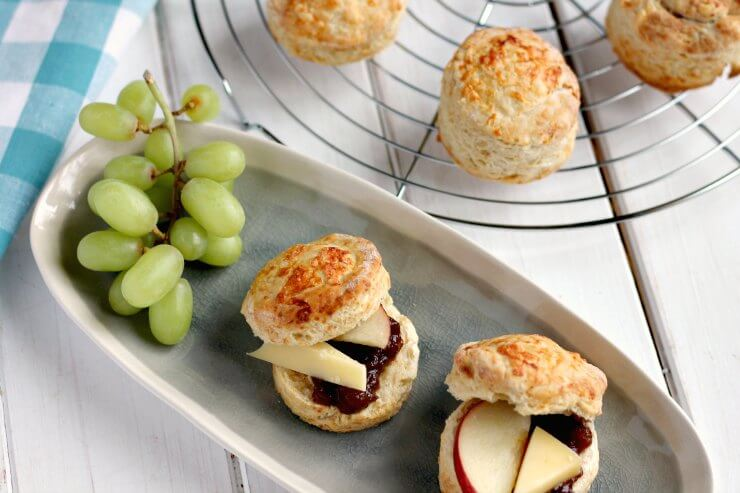 Easy Cheese Scones - A Cornish Food Blog