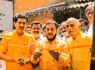 महाशिवरात्रि के दिन किया गया श्री मार्कण्डेश्वर महादेव मंदिर का जीर्णोद्धार | #NayaSaberaNetwork