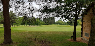 The Golf course at Malkins Bank Golf Club in Sandbach