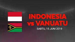 Harga Tiket Online Pertandingan Timnas Indonesia vs Vanuatu