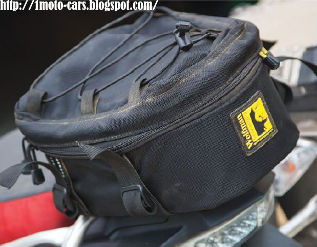 Motorcycle And Cars Wolfman Peak Tail Bag