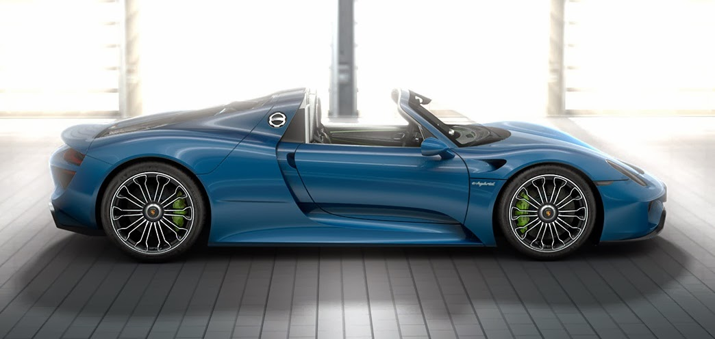 Porsche 918 Spyder Hybrid Car Reviews New Car Pictures