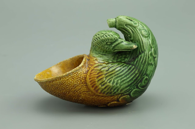 오리모양 잔, 당(唐) 영륭(永隆) 2년(681), 자주요박물관