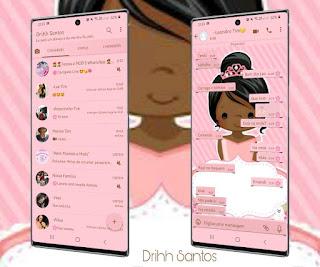 Anime Girl Theme For YOWhatsApp & Fouad WhatsApp By Driih Santos