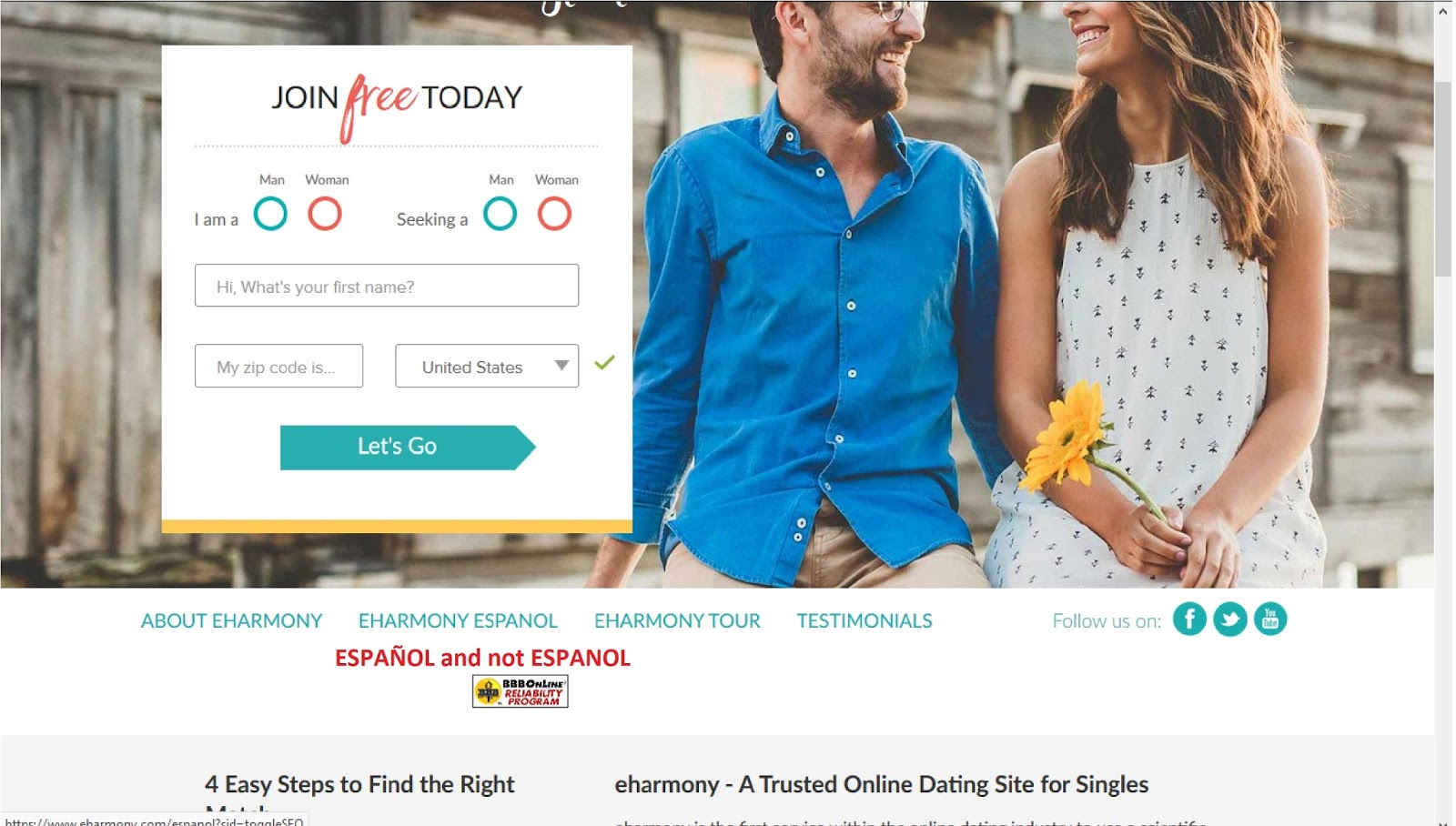 How much does dating sites cost