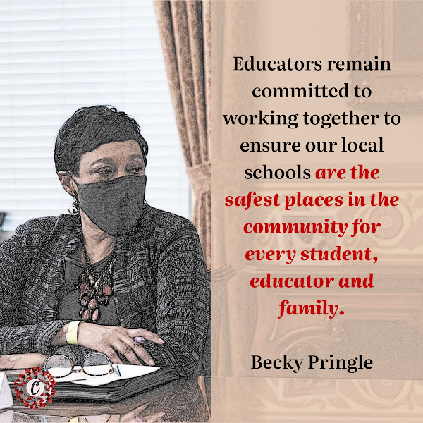 Educators remain committed to working together to ensure our local schools are the safest places in the community for every student, educator and family. — Becky Pringle, president of the National Education Association