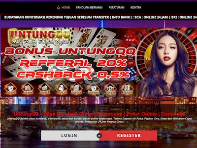 Main PokerQQ Di Untungqq Dapat Bonus Seumur Hidup Loh!