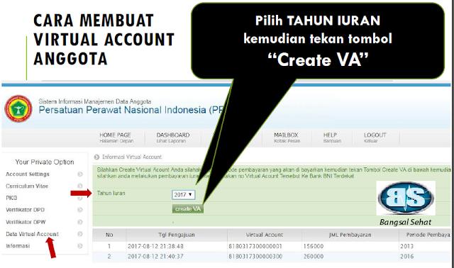 PPNI merupakan sebuah wadah perhimpunan perawat Indonesia yang sudah diakui sebagai perhi Cara Mendapatkan Nomor Virtual account Dan Bayar Iuran PPNI Melalui Teller Atau ATM