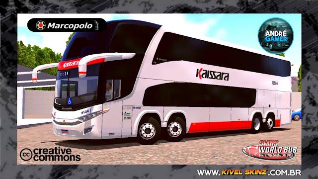PARADISO G7 1800 DD 8X2 - VIAÇÃO KAISSARA