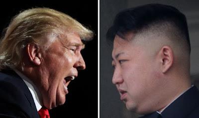 Donald Trump versus King Jong Un