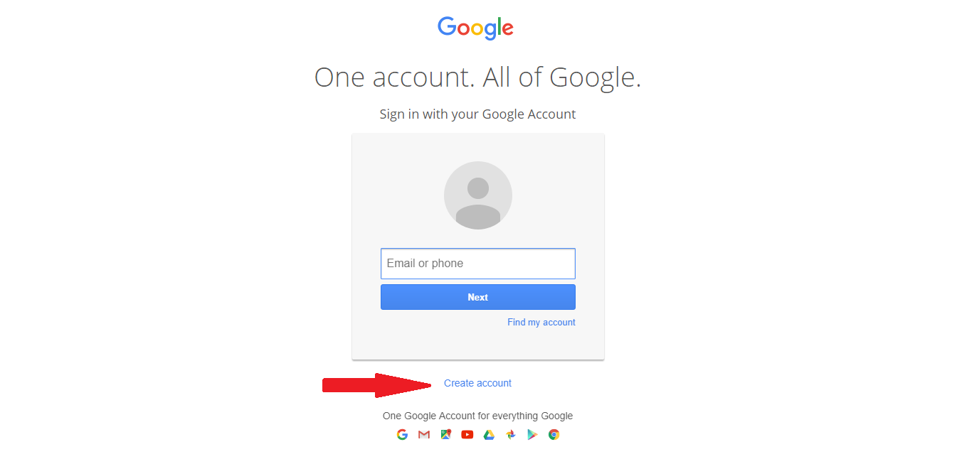 How to Create Gmail Account 2019 New Email-Gmail