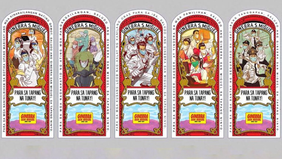 Ginebra San Miguel's Reimagines Its Iconic Label to Celebrate Frontliners - metroscene mag