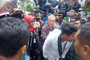 Demo HMI di Kantor Gubernur Adem, Baiq Eva Terima Tuntutan Pendemo