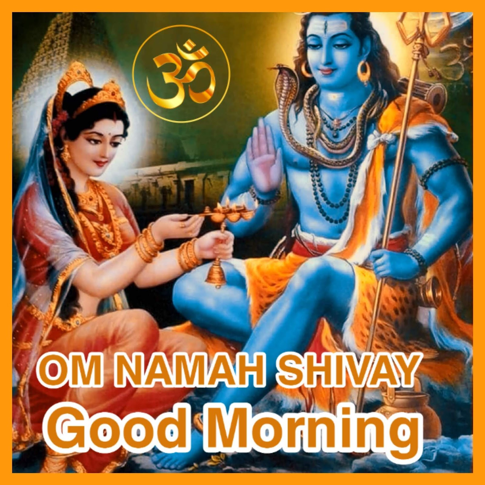 Good Morning Lord Shiva Images With Shubh Somvar Pictures